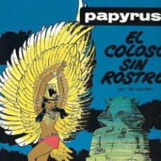 Cómics: PAPYRUS (POR DE GIETER), TOMO Nª3: EL COLOSO SIN ROSTRO ( DIFICIL). Lote 115124659
