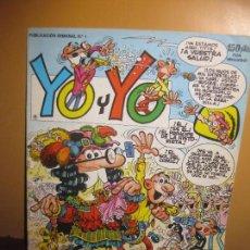 Cómics: YO Y YO Nº 1. EDICIONES JUNIOR. GRIJALBO.. Lote 115231759