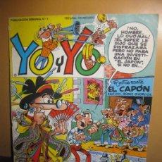 Cómics: YO Y YO Nº 3. EDICIONES JUNIOR. GRIJALBO.. Lote 115231859