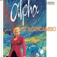 Cómics: ALPHA Nº 1 EL INTERCAMBIO - GRIJALBO - MUY BUEN ESTADO - C08. Lote 115279191