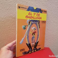 Cómics: TOMO VOLUMEN LIBRO COMIC TEBEO LUCKY LUKE DARGAUD GRIJALBO EL 7º DE CABALLERIA UNA AVENTURA 1986 7. Lote 115298231