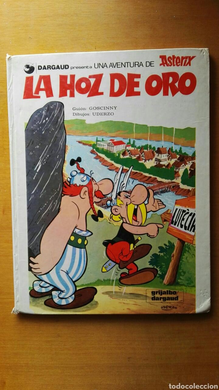 ASTÉRIX Y OBELIX LA HOZ DE ORO DARGAUD 1980 (Tebeos y Comics - Grijalbo - Asterix)
