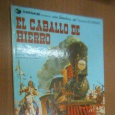 Cómics: TENIENTE BLUEBERRY (VOLUMEN 5) EL CABALLO DE HIERRO EDITORIAL GRIJALBO BARCELONA 1977. Lote 115564775