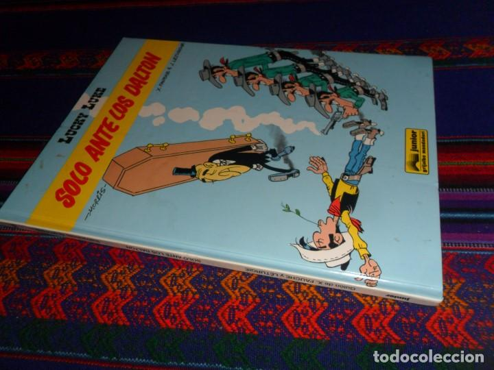 LUCKY LUKE Nº 55 SOLO ANTE LOS DALTON. GRIJALBO JUNIOR 1995. BUEN ESTADO Y MUY DIFÍCIL. (Tebeos y Comics - Grijalbo - Lucky Luke)