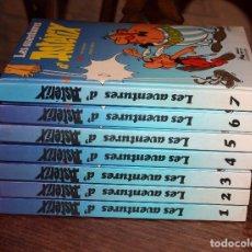Cómics: LES AVENTURES DE ASTERIX - 7 TOMOS TAPADURA ACOLCHADA - 1983 - GRIJALBO - COMPLETA - MUY BUEN ESTADO. Lote 115740179