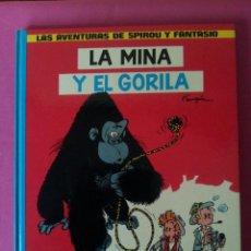 Cómics: LAS AVENTURAS DE SPIROU Y FANTASIO Nº9 - LA MINA Y EL GORILA - EDICIONES JUNIOR,GRIJALBO 1982. Lote 116051871