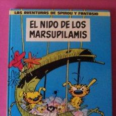 Cómics: LAS AVENTURAS DE SPIROU Y FANTASIO Nº10 - EL NIDO DE LOS MARSUPILAMIS - EDIC. JUNIOR,GRIJALBO 1982. Lote 116051987