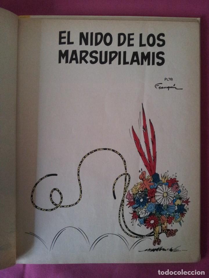 Cómics: LAS AVENTURAS DE SPIROU Y FANTASIO Nº10 - EL NIDO DE LOS MARSUPILAMIS - EDIC. JUNIOR,GRIJALBO 1982 - Foto 2 - 116051987