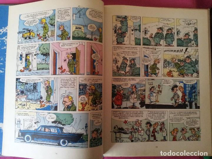 Cómics: LAS AVENTURAS DE SPIROU Y FANTASIO Nº14 - QRN EN BRETZELBURG - EDICIONES JUNIOR,GRIJALBO 1982 - Foto 3 - 116052135