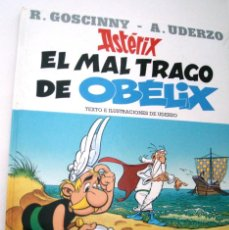Cómics: ASTERIX - EL MAL TRAGO DE OBÉLIX. Lote 116053087
