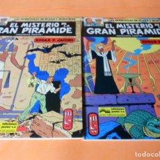 Cómics: EL MISTERIO DE LA GRAN PIRAMIDE. Nº 1 Y 2. EDICION GRIJALBO 1983. BUEN ESTADO.. Lote 116068823