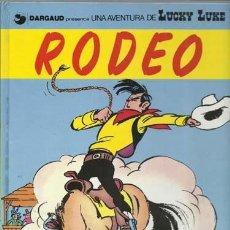 Cómics: LUCKY LUKE 50: RODEO, 1993, GRIJALBO, MUY BUEN ESTADO.. Lote 118769410