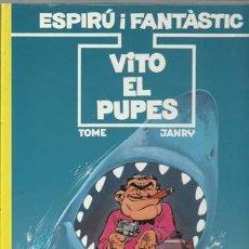 Cómics: ESPIRÚ I FANTÀSTIC 29: VITO EL PUPES, 1992, EDICIONS JUNIOR, MUY BUEN ESTADO. Lote 210128575