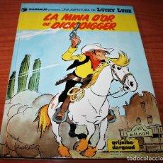 Cómics: LUCKY LUKE - LA MINA D'OR DE DICK DIGGER - MORRIS - GRIJALBO/DARGAUD - 1993 - EN CATALÁN. Lote 116261263