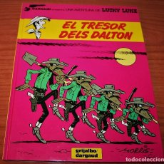 Cómics: LUCKY LUKE - EL TRESOR DELS DALTON - MORRIS/VICQ - GRIJALBO/DARGAUD - 1993 - EN CATALÁN. Lote 116261599
