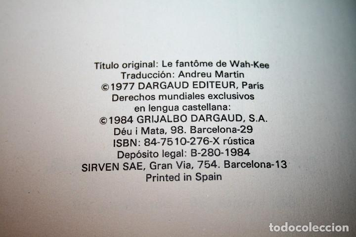 Cómics: JONATHAN CARTLAND - EL FANTASMA DE WAH-KEE - HARLE/BLANC-DUMONT - GRIJALBO/DARGAUD - 1984 - Foto 2 - 116263451