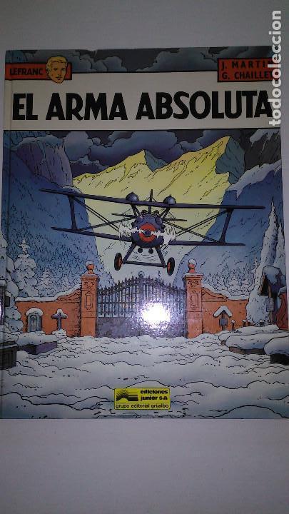 LEFRANC EDICIONES. JUNIOR/GRIJALBO. 1988 (Tebeos y Comics - Grijalbo - Lefranc)