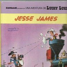 Cómics: LUCKY LUKE 41: JESSE JAMES, 1990, GRIJALBO, MUY BUEN ESTADO. Lote 118769418