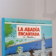 Cómics: ESPIROU Y FANTASIO 35 GRIJALBO JUNIOR LA ABADIA ENCANTADA. Lote 116758911