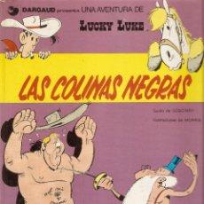 Cómics: LAS COLINAS NEGRAS - LUCKY LUKE - MORRIS Y GOSCINNY - GRIJALBO / DARGAUD, 1979.. Lote 116825459