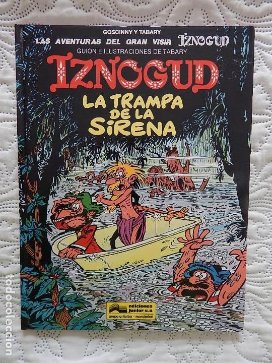LAS AVENTURAS DEL GRAN VISIR IZNOGUD - LA TRAMPA DE LA SIRENA -17 (Tebeos y Comics - Grijalbo - Iznogoud)