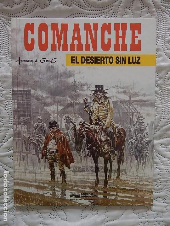 COMANCHE - EL DESIERTO SIN LUZ N. 5 (Tebeos y Comics - Grijalbo - Comanche)