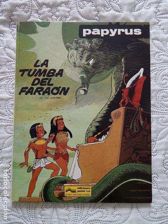 PAPYRUS - LA TUMBA DEL FARAON N. 4 (Tebeos y Comics - Grijalbo - Papyrus)
