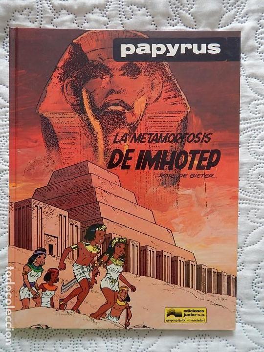 PAPYRUS - LA METAMORFOSIS DE IMHOTEP N. 8 (Tebeos y Comics - Grijalbo - Papyrus)