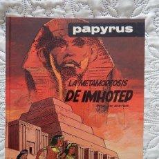 Cómics: PAPYRUS - LA METAMORFOSIS DE IMHOTEP N. 8. Lote 116963535