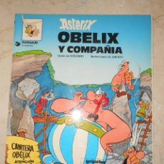 Cómics: ASTERIX, OBELIX Y COMPAÑIA. TAPA BLANDA.. Lote 117012191