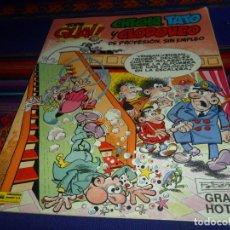 Cómics: TOPE GUAI! NºS 18 Y 15 CHICHA, TATO Y CLODOVEO. GRIJALBO 1988. REGALO Nº 10 TERRE & MOTO HERMANOS.. Lote 33963999