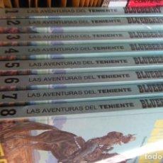 Cómics: LAS AVENTURAS DEL TENIENTE BLUEBERRY COMPLETA, 8 TOMOS 31 NUMEROS TAPA DURA ACOLCHADA. Lote 117108659