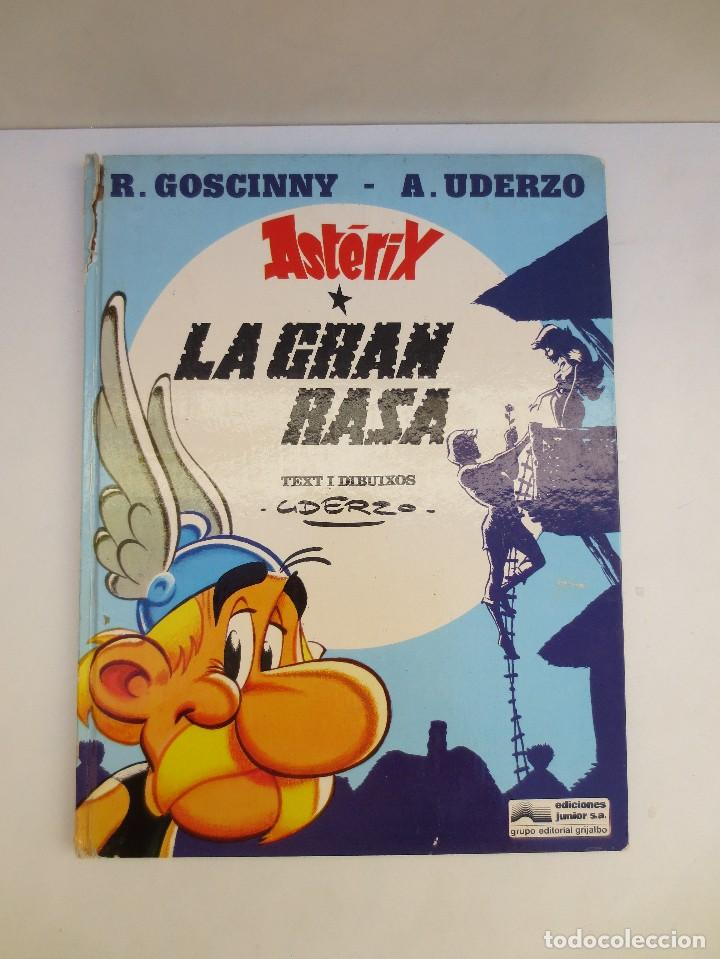 ASTERIX - LA GRAN RASA - EDICION EN CATALAN - AÑO 1980. (Tebeos y Comics - Grijalbo - Asterix)