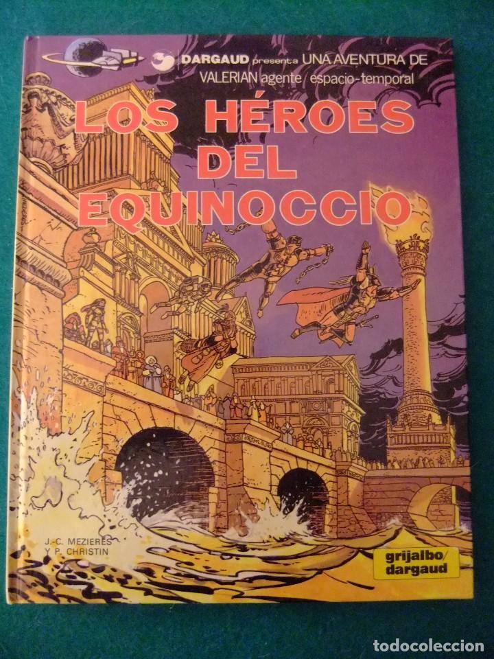 VALERIAN AGENTE DEL ESPACIO TEMPORAL Nº 7 LOS HEROES DEL EQUINOCIO GRIJALBO/DARGAUD (Tebeos y Comics - Grijalbo - Valerian)