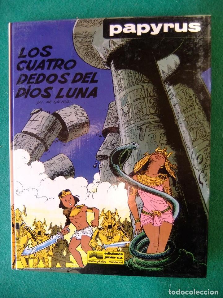 PAPYRUS Nº 6 LOS CUATRO DEDOS DEL DIOS LUNA GRIJALBO (Tebeos y Comics - Grijalbo - Papyrus)