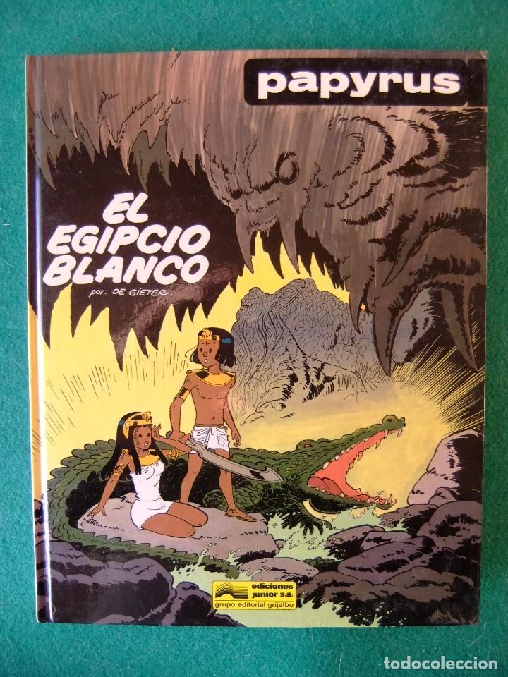 PAPYRUS Nº 5 EL DIOS BLANCO GRIJALBO (Tebeos y Comics - Grijalbo - Papyrus)