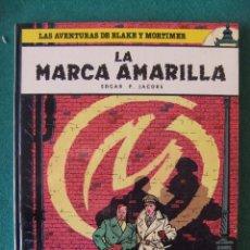 Cómics: LAS AVENTURAS DE BLAKE Y MORTIMER Nº 3 LA MARCA AMARILLA GRIJALBO. Lote 117522691