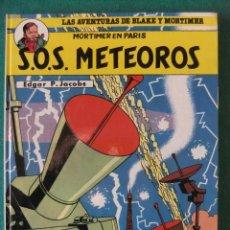Cómics: LAS AVENTURAS DE BLAKE Y MORTIMER Nº 4 S.O.S. METEOROS GRIJALBO. Lote 117522779