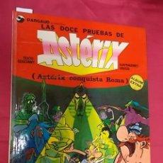Cómics: LAS DOCE PRUEBAS DE ASTERIX. DARGAUD. GRIJALBO. 1976. Lote 117585675