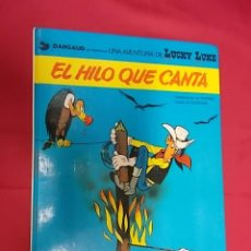 Comics : LUCKY LUKE. Nº 10 . EL HILO QUE CANTA . JUNIOR GRIJALBO. Lote 117870775
