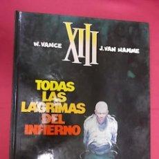 Cómics: XIII. Nº 3. TODAS LAS LÁGRIMAS DEL INFIERNO. GRIJALBO. 1988. Lote 117953331