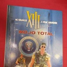 Cómics: XIII. Nº 5. ROJO TOTAL. GRIJALBO. 1989. Lote 117953795