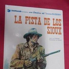 Comics: BLUEBERRY. Nº 5. LA PISTA DE SIOUX. GRIJALBO. DARGAUD. Lote 117958195