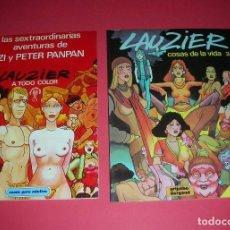 Cómics: LAUZIER LAS SEXTRAORDINARIAS AVENTURAS ZIZI Y PETER PANPAN Y COSAS DE LA VIDA 3 .NUEVOS ENVÍO GRATIS. Lote 118129723