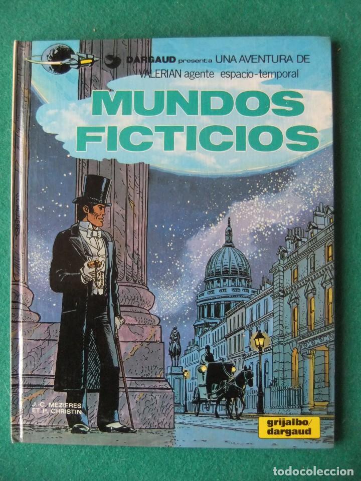VALERIAN AGENTE ESPACIO-TEMPORAL Nº 6 MUNDOS FICTICIOS GRIJALBO/DARGAUD (Tebeos y Comics - Grijalbo - Valerian)