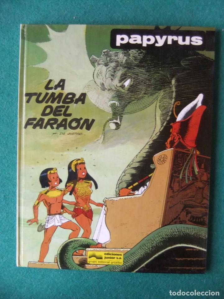 PAPIRUS NUMERO 4 LA TUMBA DEL FARAON EDICIONES JUNIOR (Tebeos y Comics - Grijalbo - Papyrus)