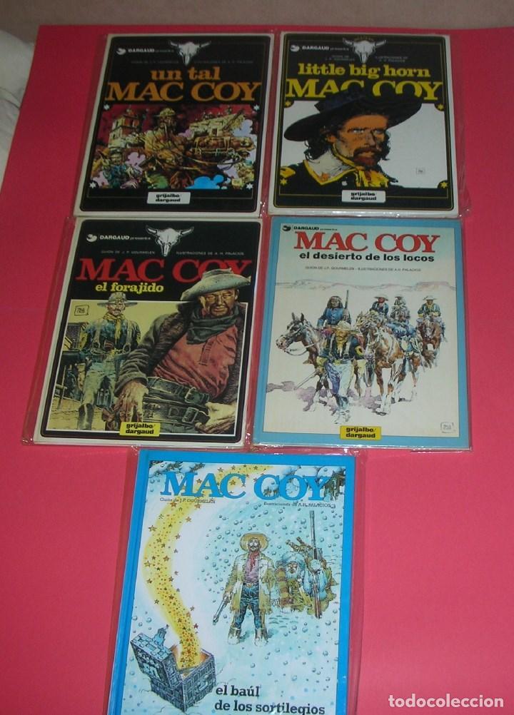 MAC COY 5 TOMOS : Nº 2-8-12-14-18 GRIJALBO-DARGAUD . NUEVOS Y NUNCA LEÍDOS (Tebeos y Comics - Grijalbo - Mac Coy)