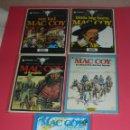 Cómics: MAC COY 5 TOMOS : Nº 2-8-12-14-18 GRIJALBO-DARGAUD . NUEVOS Y NUNCA LEÍDOS . Lote 118220295