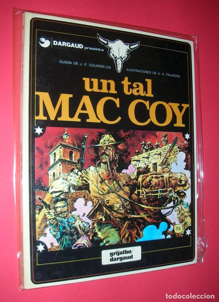 Cómics: MAC COY 5 TOMOS : Nº 2-8-12-14-18 GRIJALBO-DARGAUD . NUEVOS Y NUNCA LEÍDOS - Foto 2 - 118220295