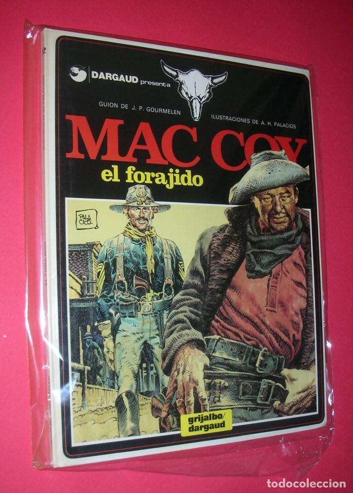 Cómics: MAC COY 5 TOMOS : Nº 2-8-12-14-18 GRIJALBO-DARGAUD . NUEVOS Y NUNCA LEÍDOS - Foto 4 - 118220295